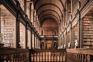 14 TRINITY LIBRARY IN DUBLIN by Doni Dupriez
