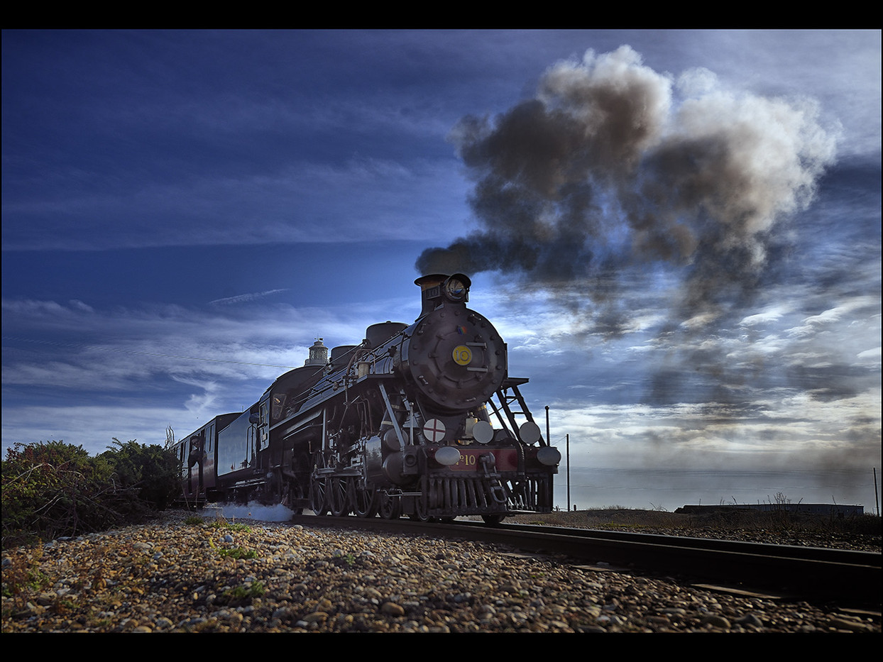 18 DOCTOR SYN LEAVING DUNGENESS by Mick Dudley