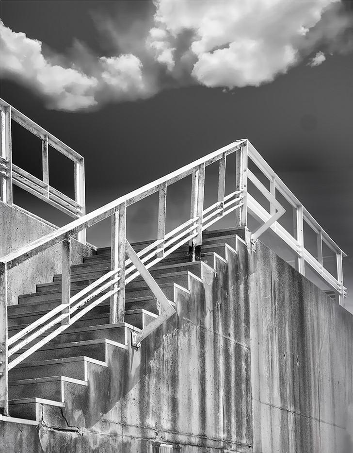 17 MARINA STEPS by David Peek