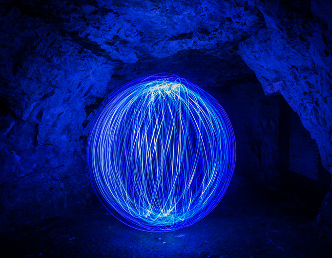 17 LIGHT PAINTING by Terry Day