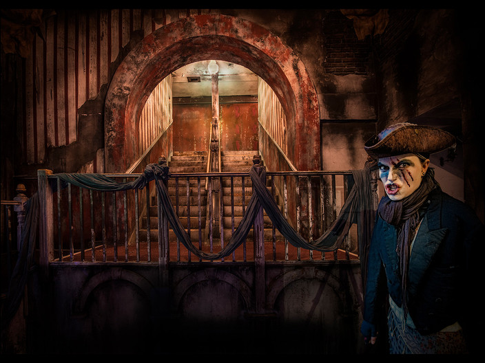 GROUP 1 18 DICKENSIAN SECURITY GUARD by Mick Dudley