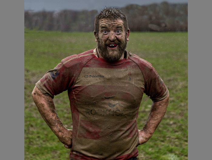 18 A HAPPY MUDDY PROP  by Denys Clarke