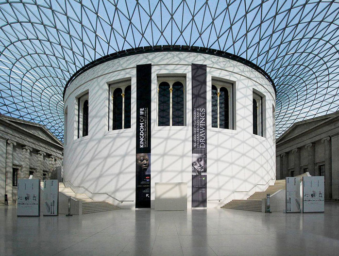 18 LONDON BRITISH MUSEUM GREAT COURT by Philip Smithies