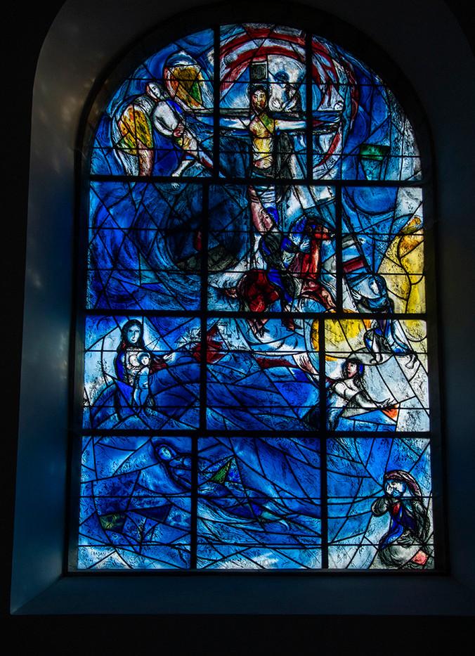16 CHAGALL GLASS by Maureen Heywood