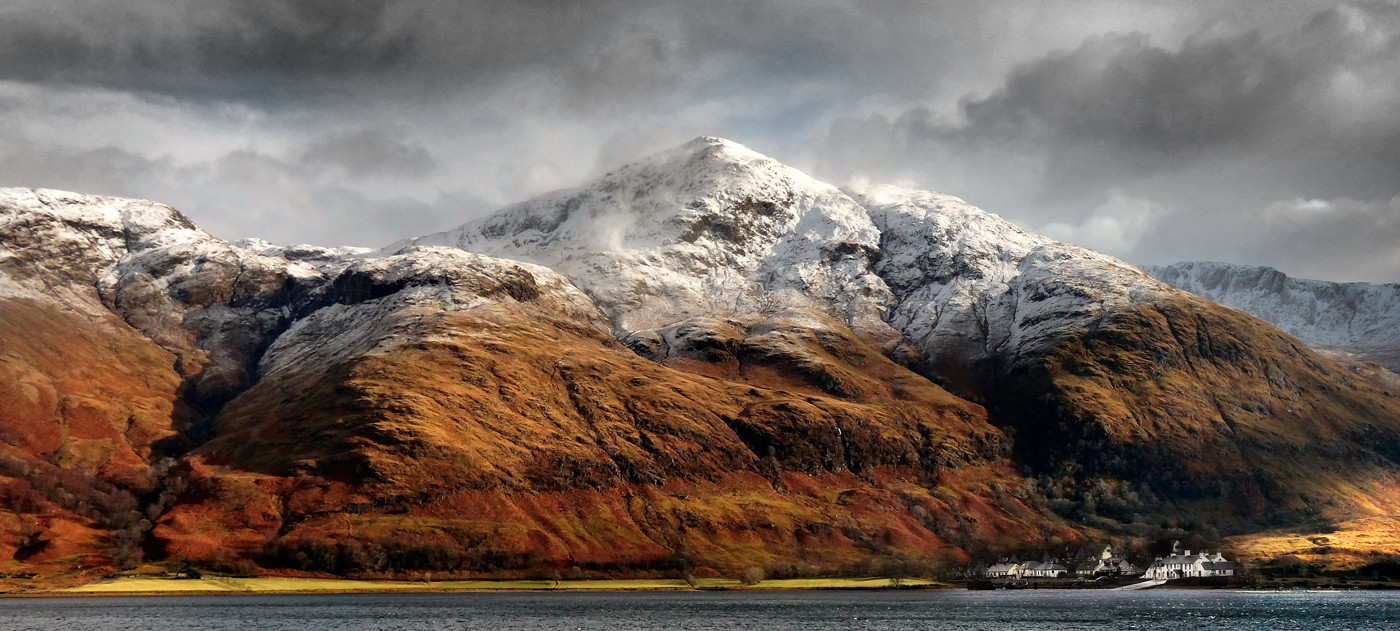 18 ARDGOUR FROM CORRAN by Peter Tulloch