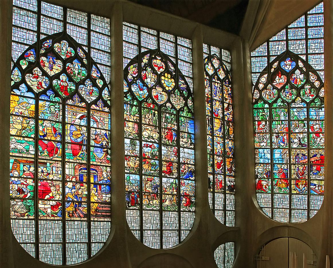 18 ST JOAN CHURCH ROUEN by Pam Sherren