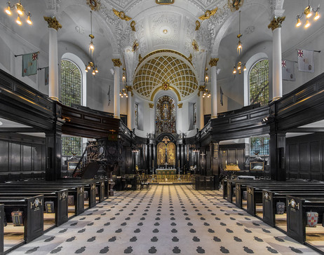 ST CLEMENT DANES CHURCH LONDON by Philip Smithies