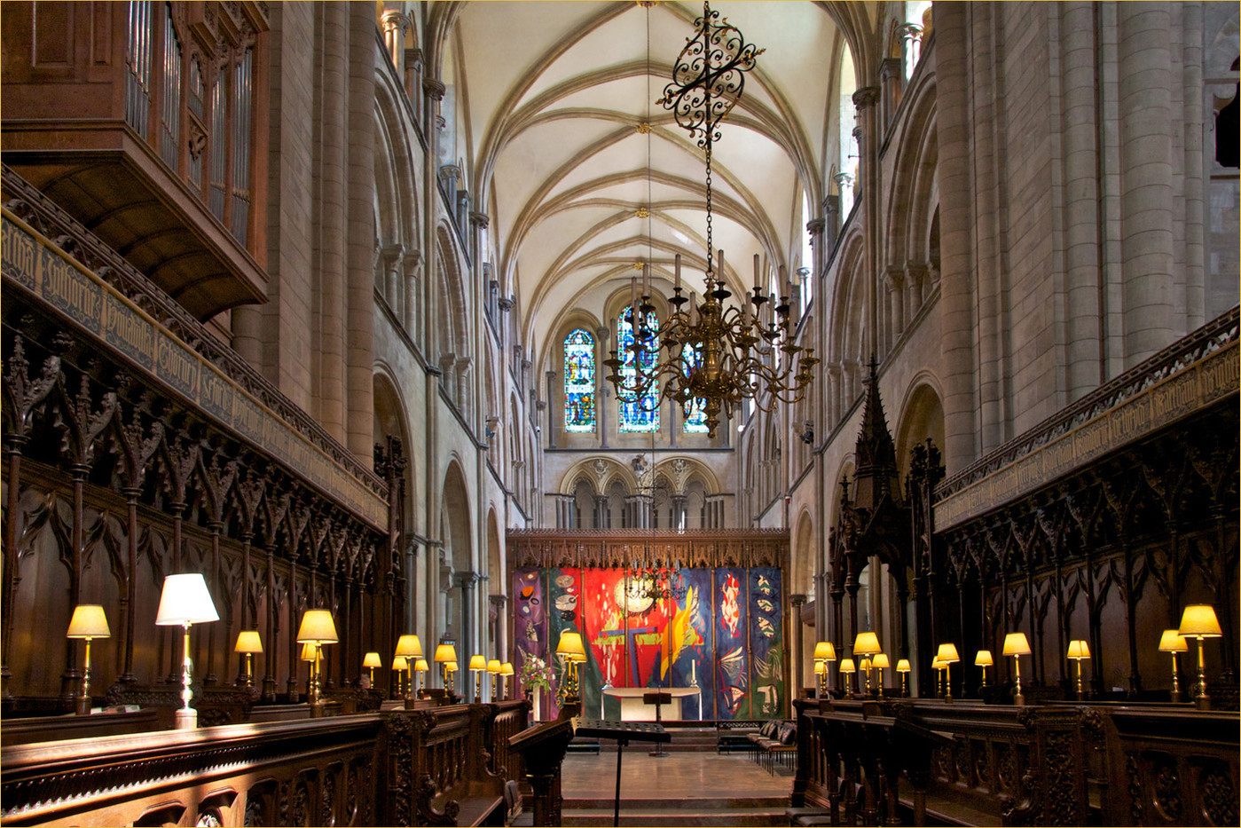 CHICHESTER CATHEDRAL by Dave Brooker
