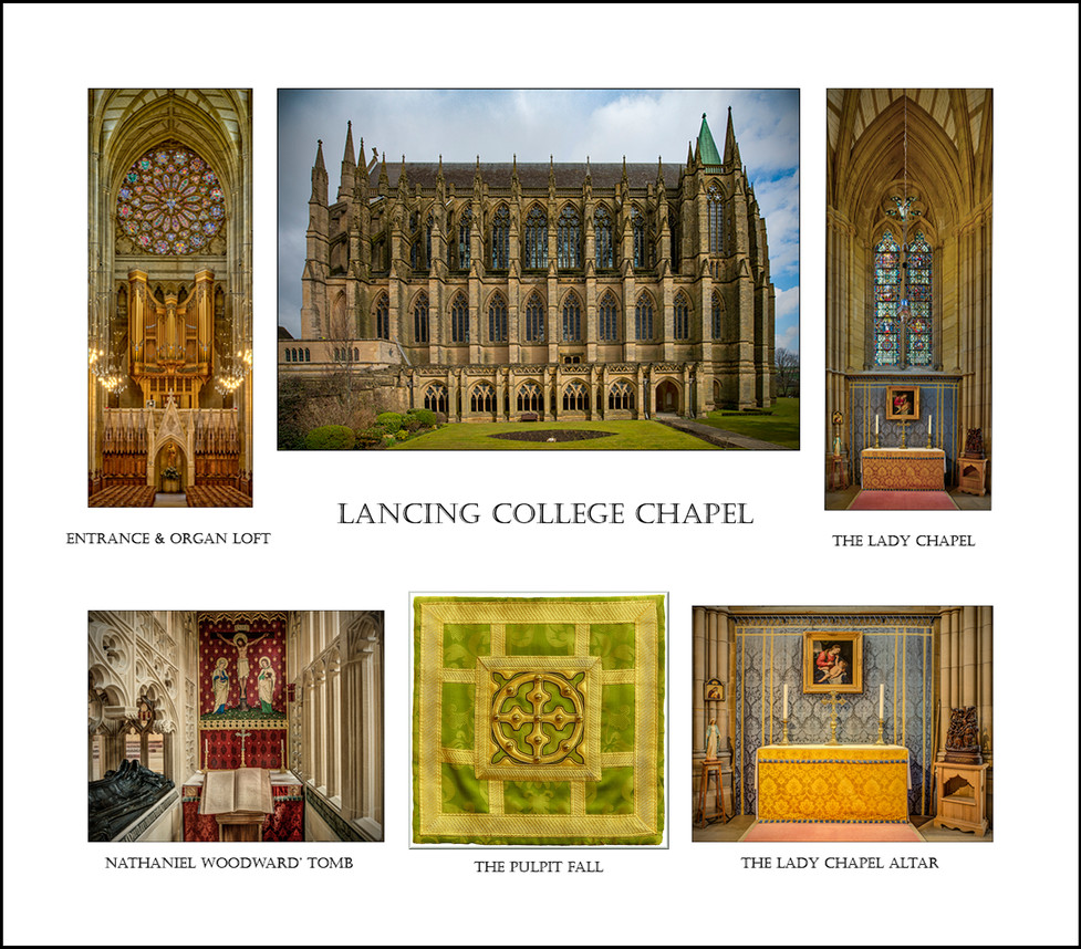 3rd PANEL LANCING COLLEGE CHAPELby Mick Dudley