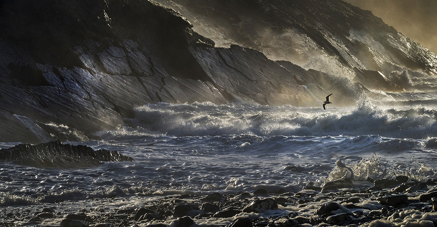 20 STORMY CRACKINGTON by Peter Tulloch