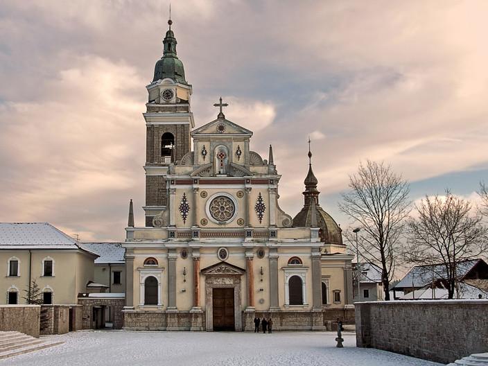 18 BREZJE CHURCH by Pam Sherren
