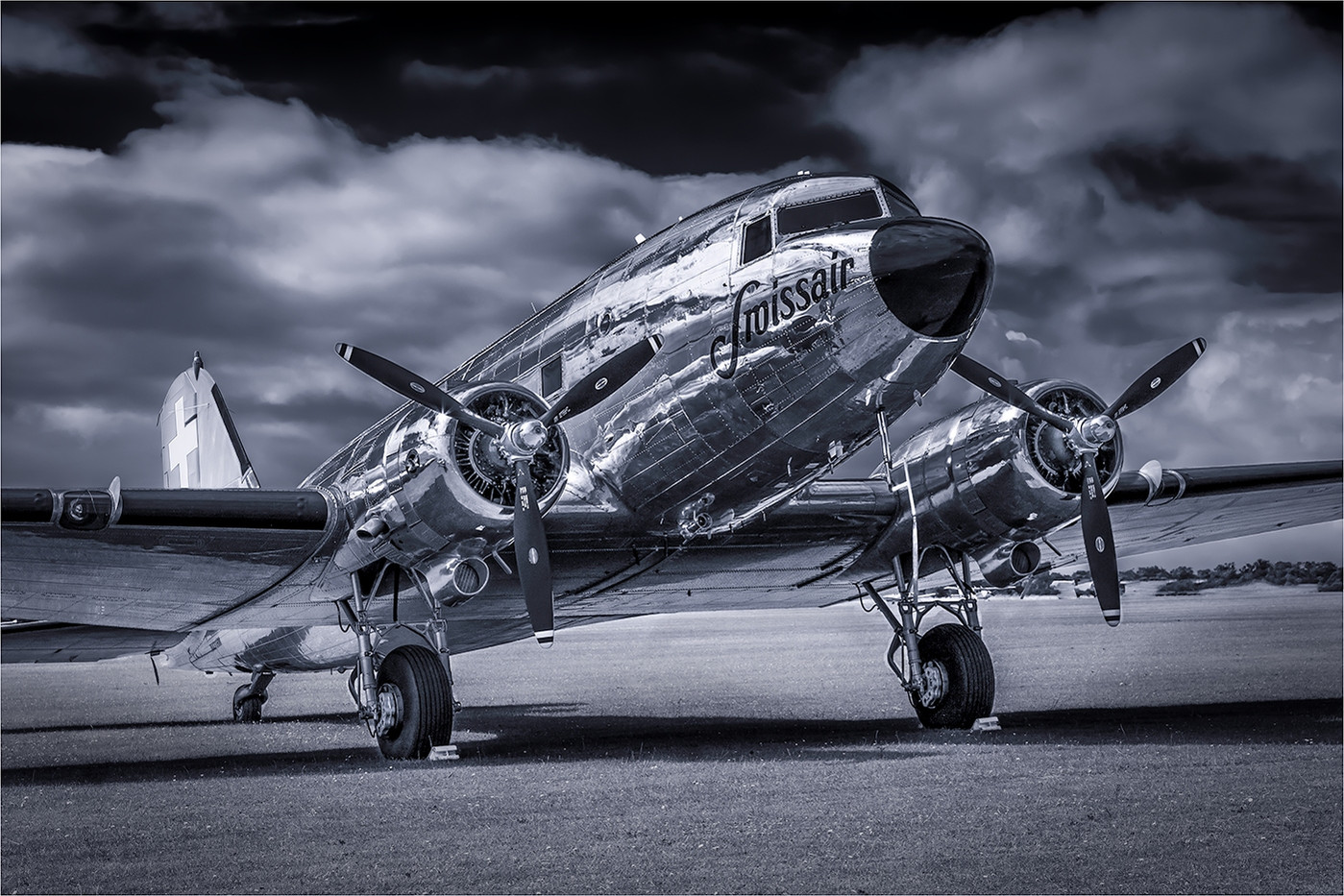 18 SWISSAIR DC3 by David Peek