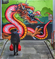 16 FEEDING THE DRAGON by Dave Brooker