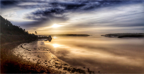 19 SUNRISE YOUGHAL BAY IRELAND by Dave Brooker