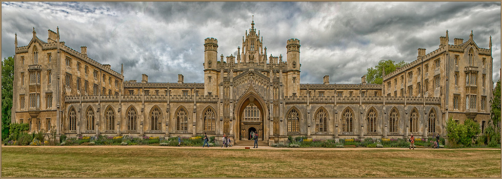 14 St JOHNS COLLEGE CAMBRIDGE by Mick Dudley