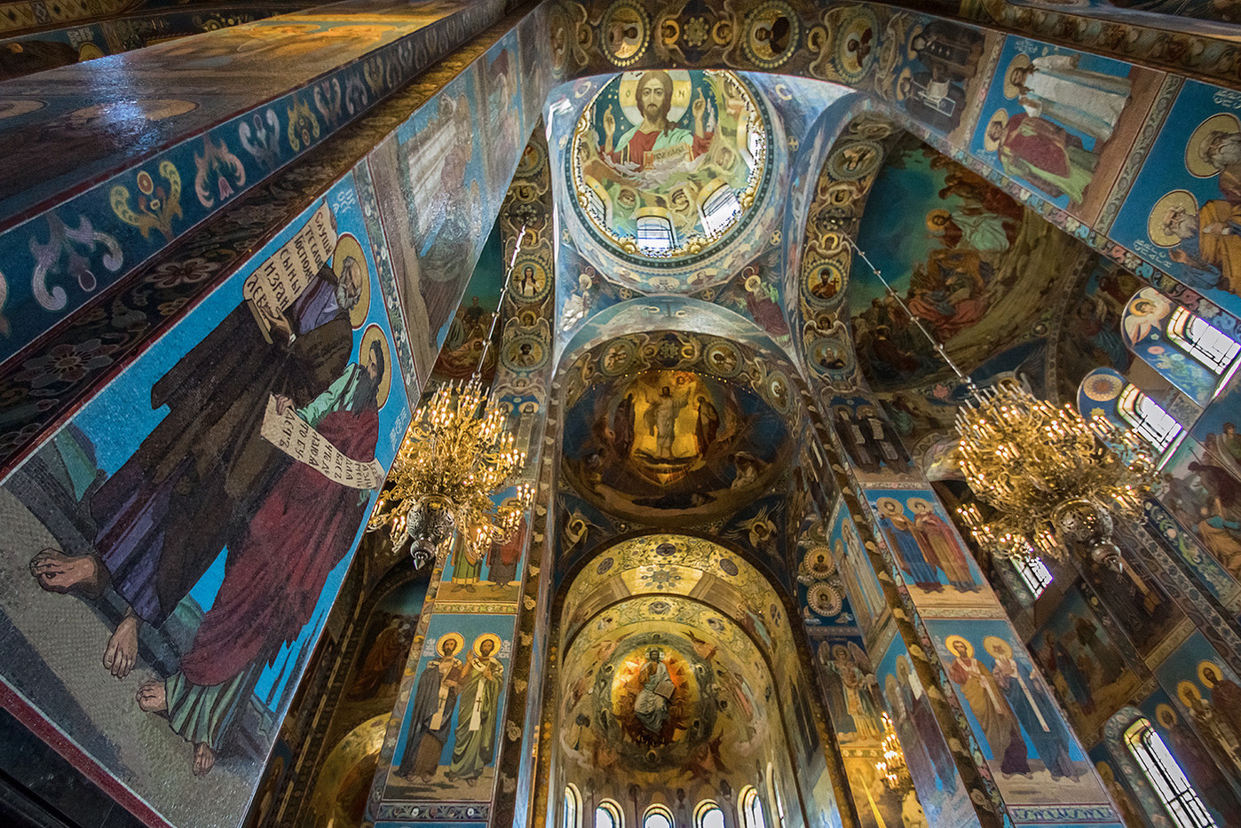 14 CHURCH OF THE SPILLED BLOOD by Pam Sherren