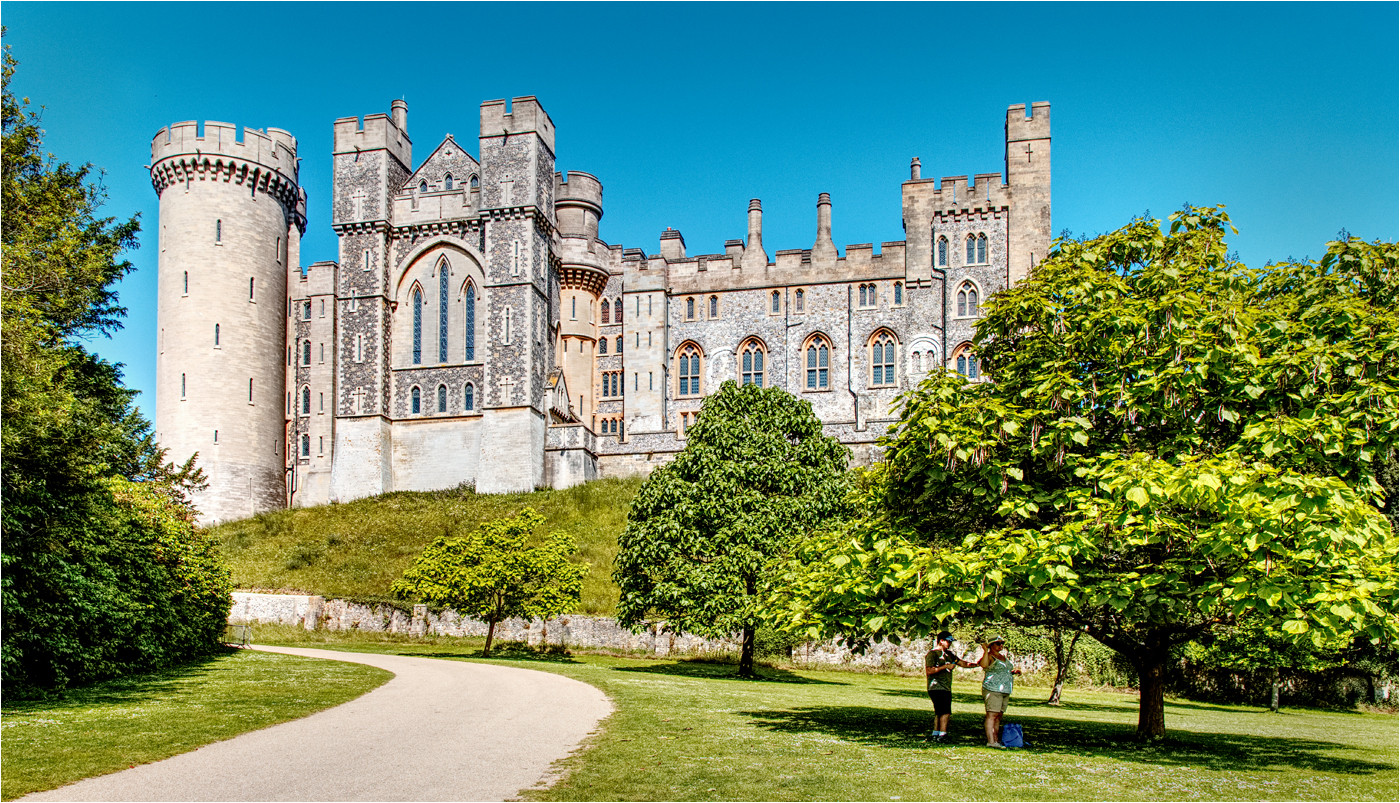 PDI 6 points ARUNDEL CASTLE by Dave Brooker