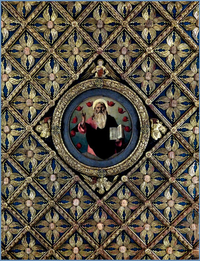 20 CEILING OF THE CARITA CONVENT, VENICE by Keith Evans