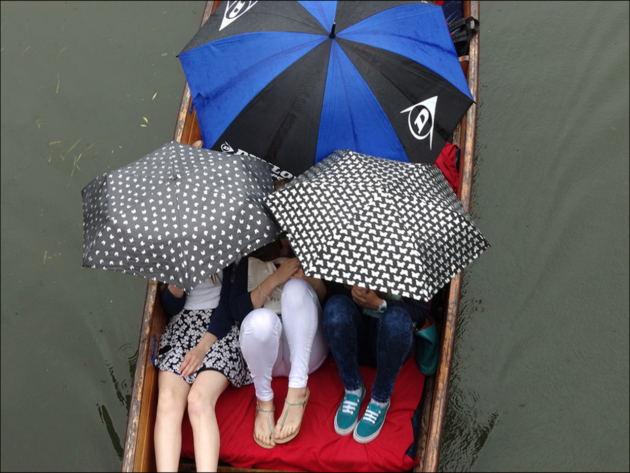 15 WET DAY FOR PUNTING by Brian Whiston