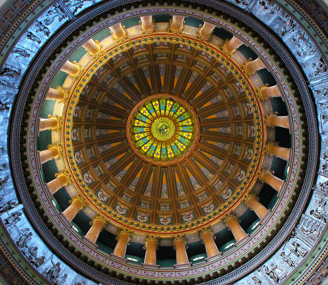 14 CAPITOL DOME SPRINGFIELD by Pam Sherren