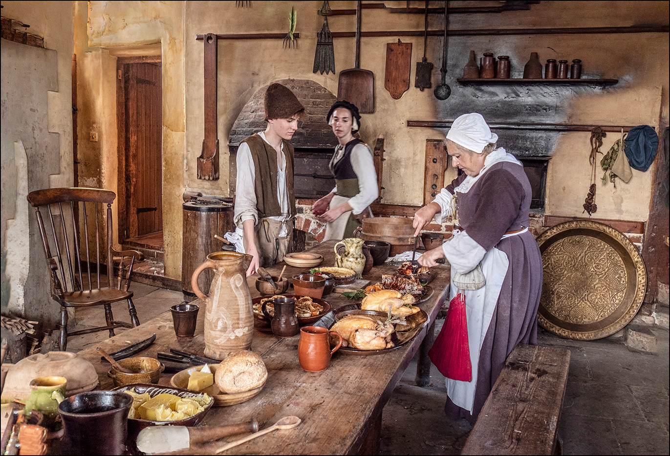 17 LUNCH TO BE SERVED By Graham Bunyan