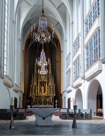 18 AUGUSTINIAN CHURCH VIENNA  by Denys Clarke
