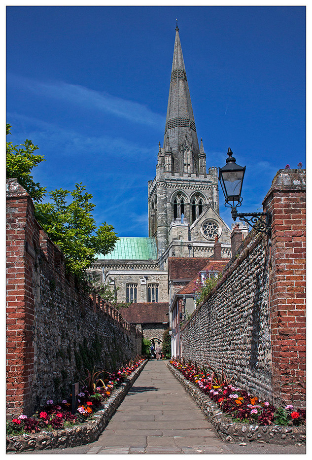 CATHEDRAL WALKWAY by Mike Hart