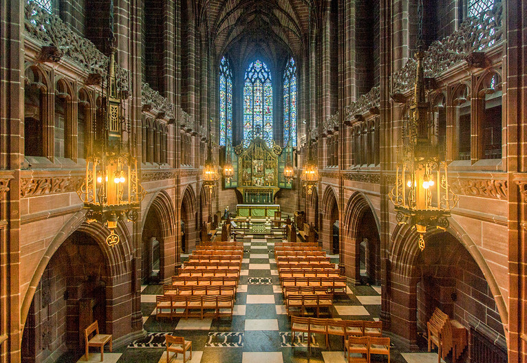 17 LADY CHAPEL, LIVERPOOL ANGLICAN CATHEDRAL by Philip Smithies