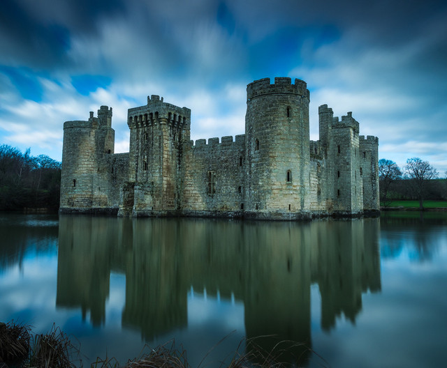 16 BODIAM CASTLE by Terry Day