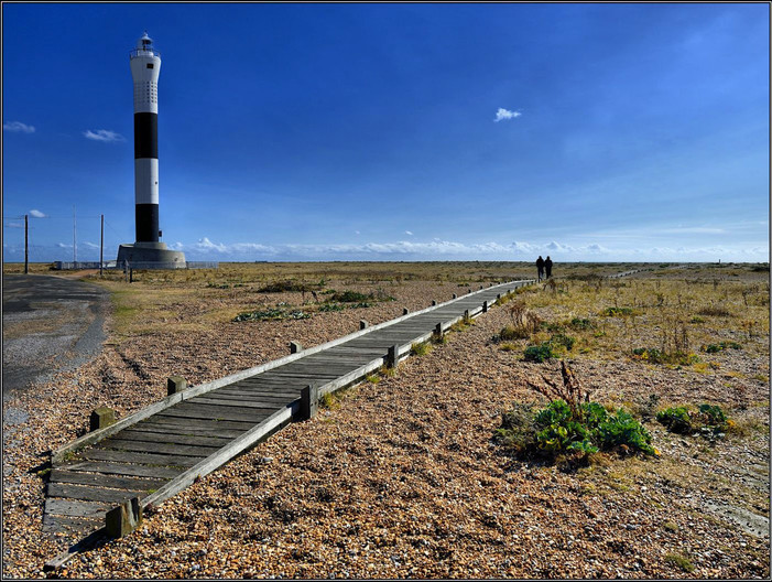 GROUP 1 16 BOARDWALK & LIGHTHOUSE by Mick Dudley