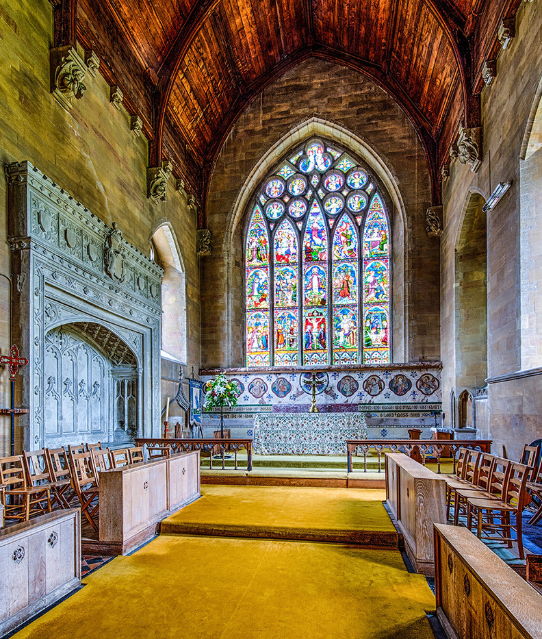 14 HIGH ALTAR, ST. MARYS CHURCH, OLD HUNSTANTON by John Butler