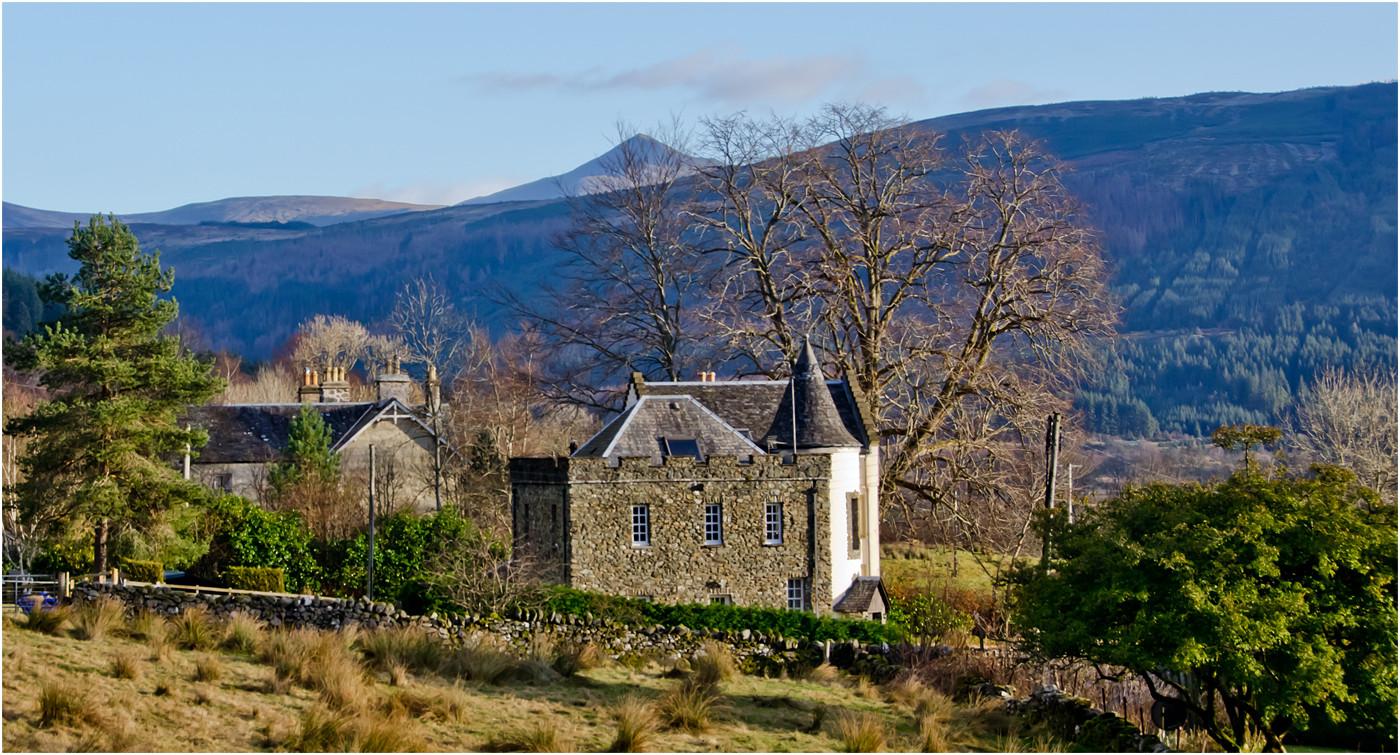 16 A BRIGHT MORNING IN SCOTLAND by Joan Goww