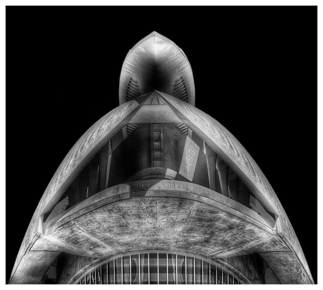 20 (PRINT) OPERA HOUSE VALENCIA by Dave Brooker