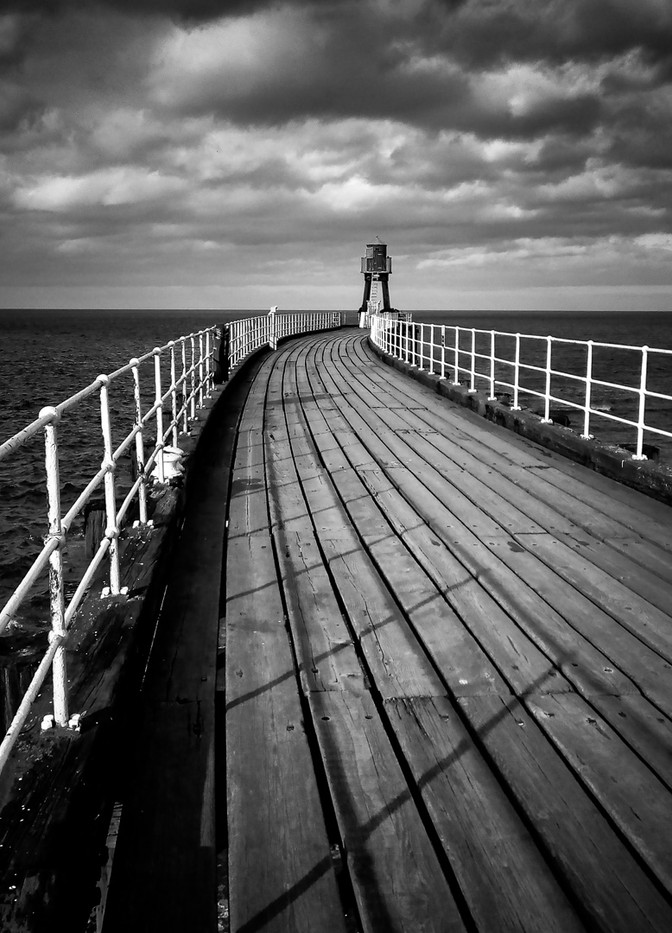 20 WHITBY WEST PIER by David Parkinson