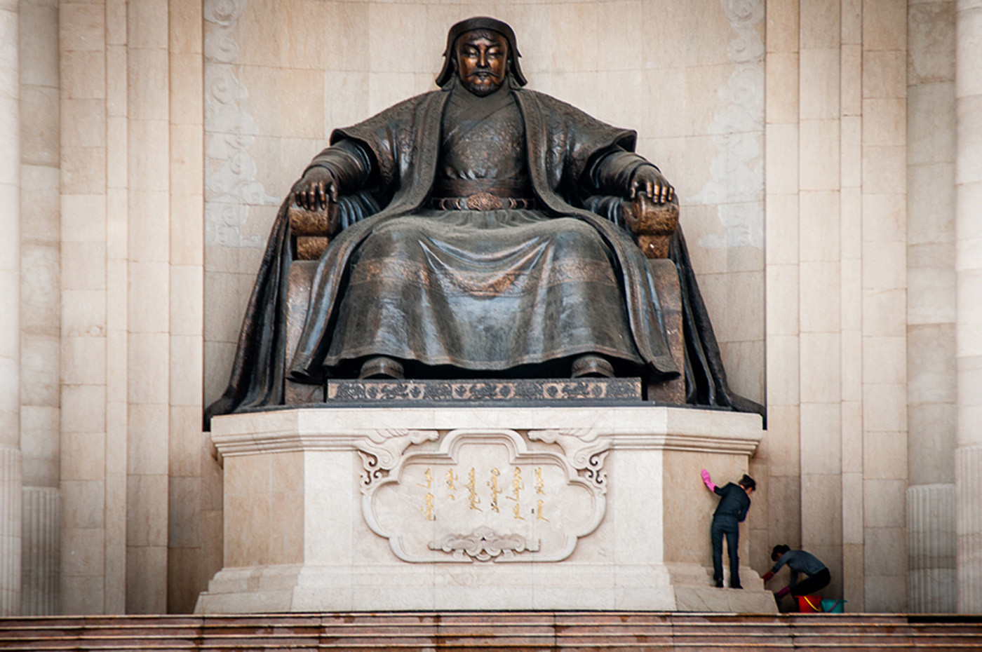 17 CHINGGIS KHAN MONUMENT by Chelin Miller