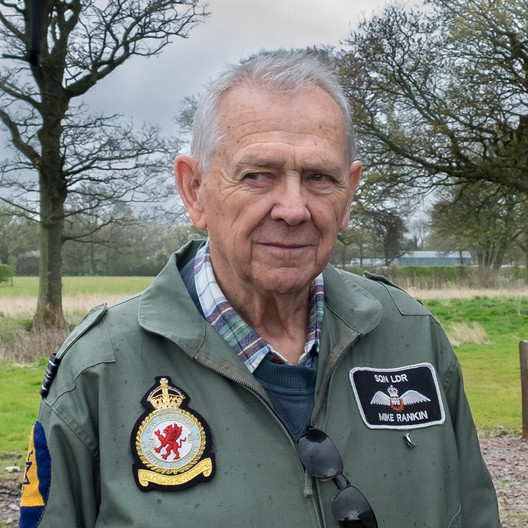 14 SQUADRON LEADER MIKE RANKIN by Colin Smith