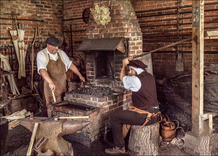 20 THE FORGE AT KENTWELL by Graham Bunyan
