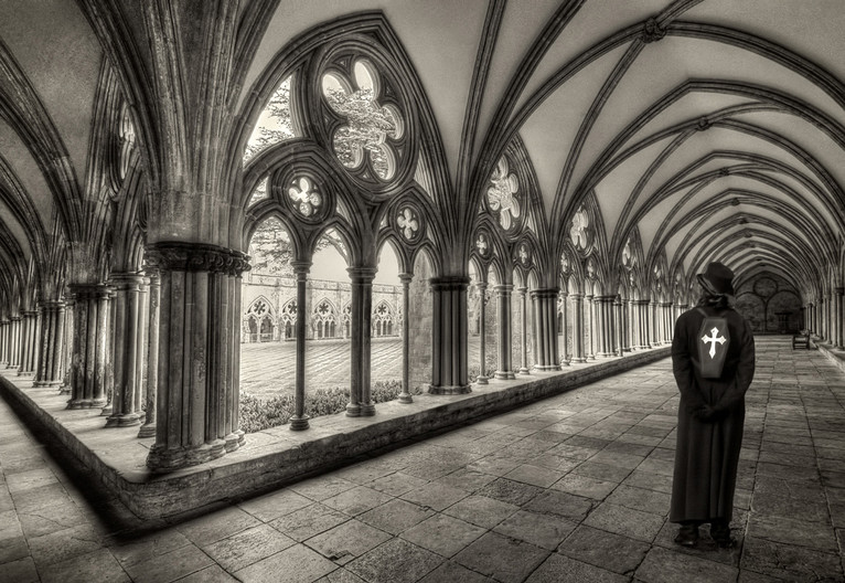 17 GOTH IN THE CLOISTERS by Pam Sherren