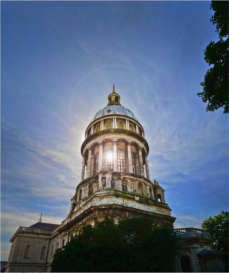 17 SUNLIGHT THROUGH THE NOTRE-DAME BASILICA BOULOGNE by Annik Pauwels