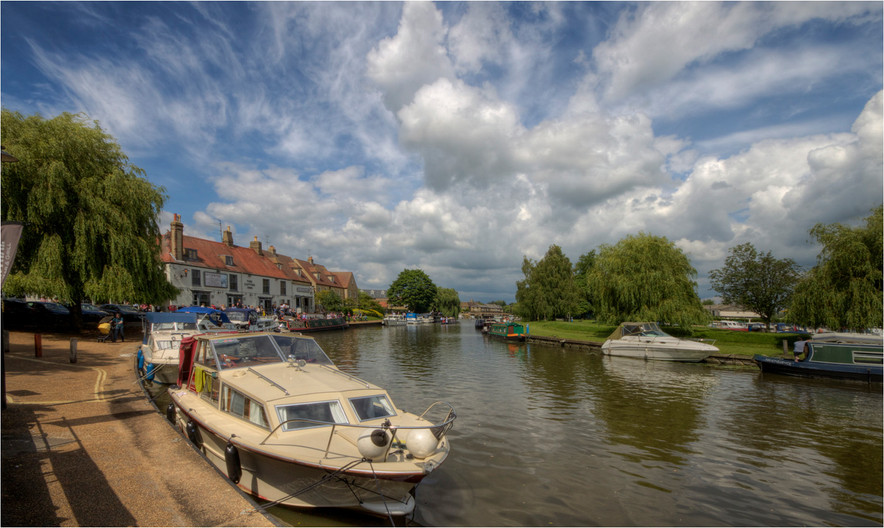 15 RIVER GREAT OUSE ELY by Dave Brooker