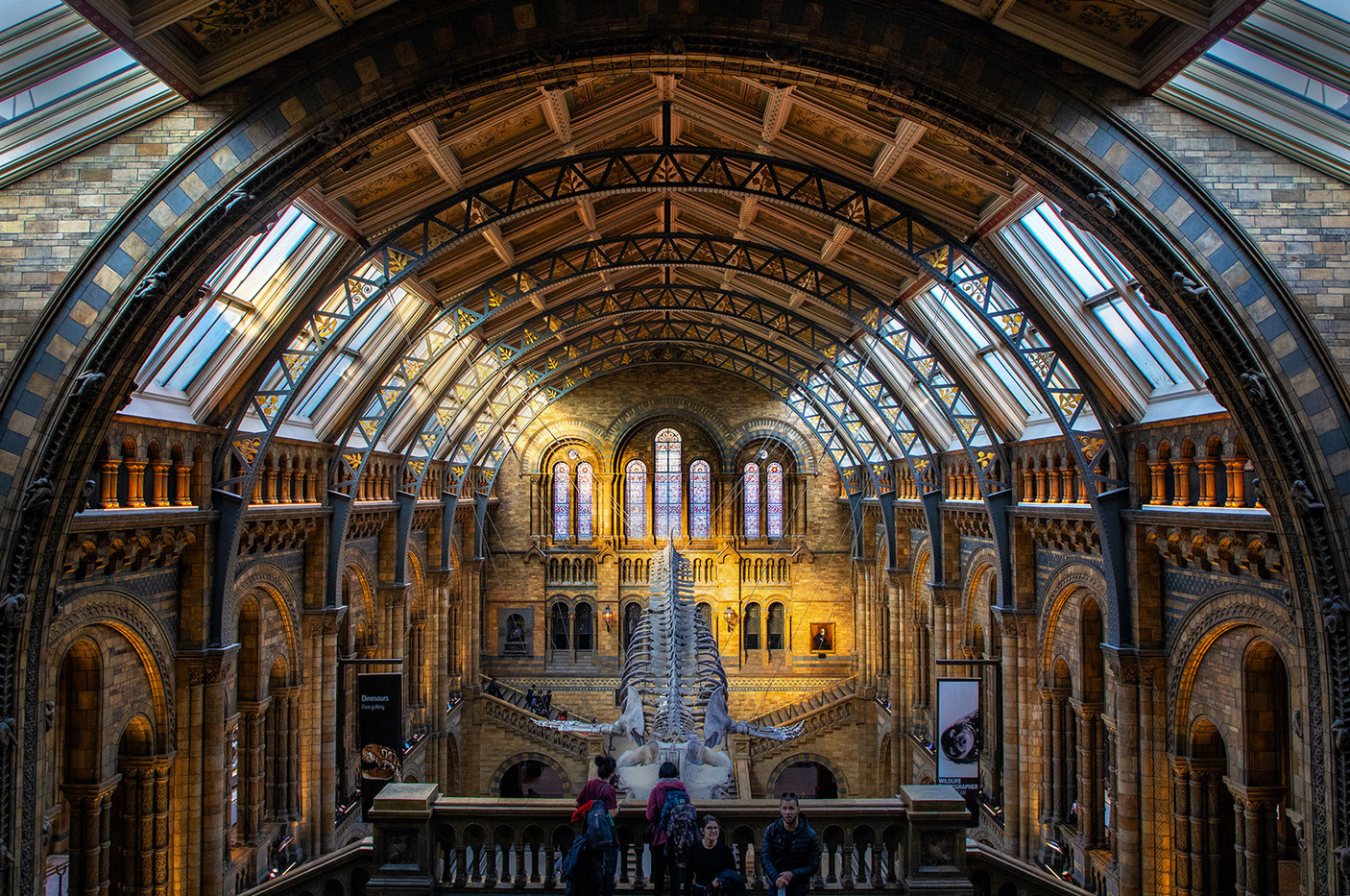 15 NATURAL HISTORY MUSEUM MAIN ENTRANCE by Philip Easom