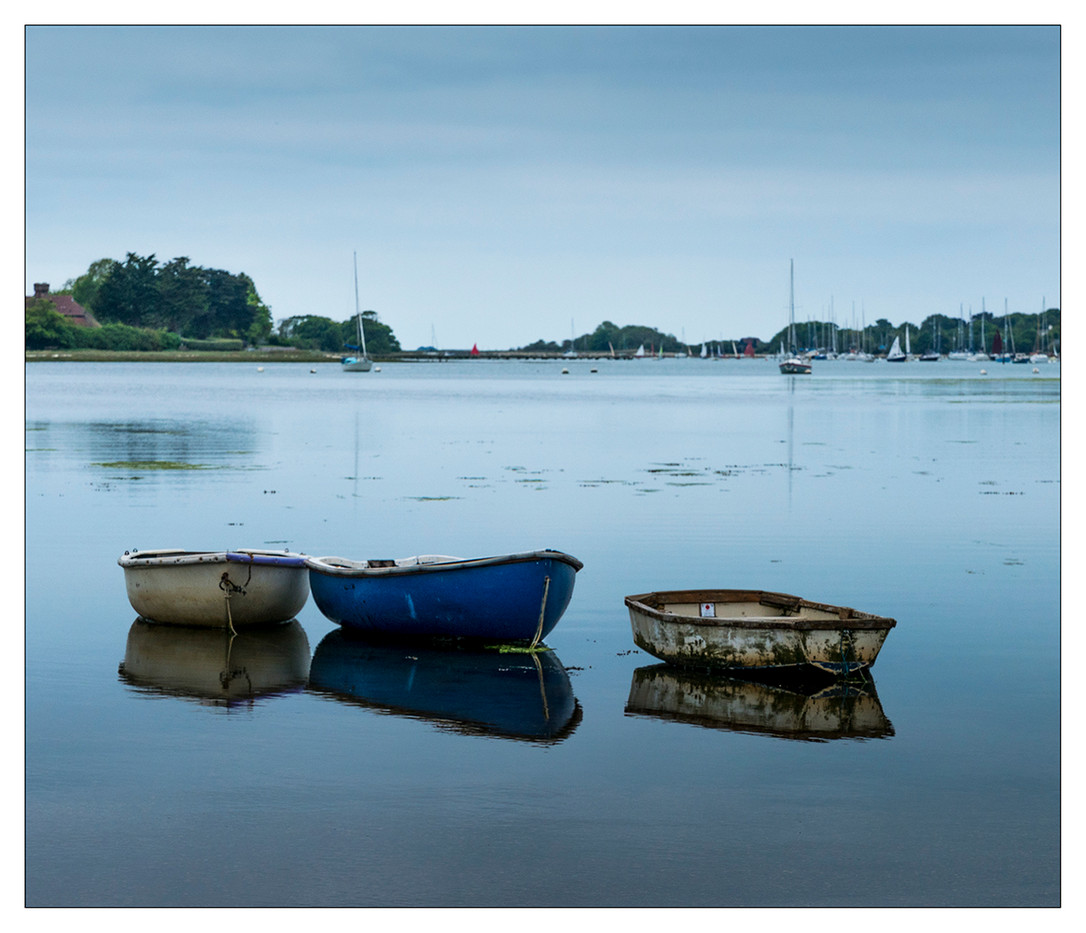 17 HIGH TIDE AT BOSHAM by Steve Oakes
