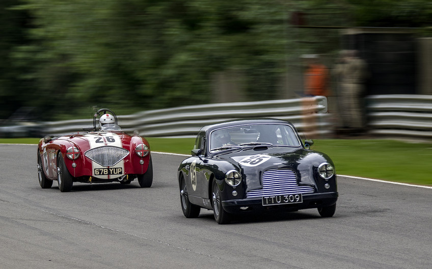 18 CHASING AN ASTON by Denys Clarke
