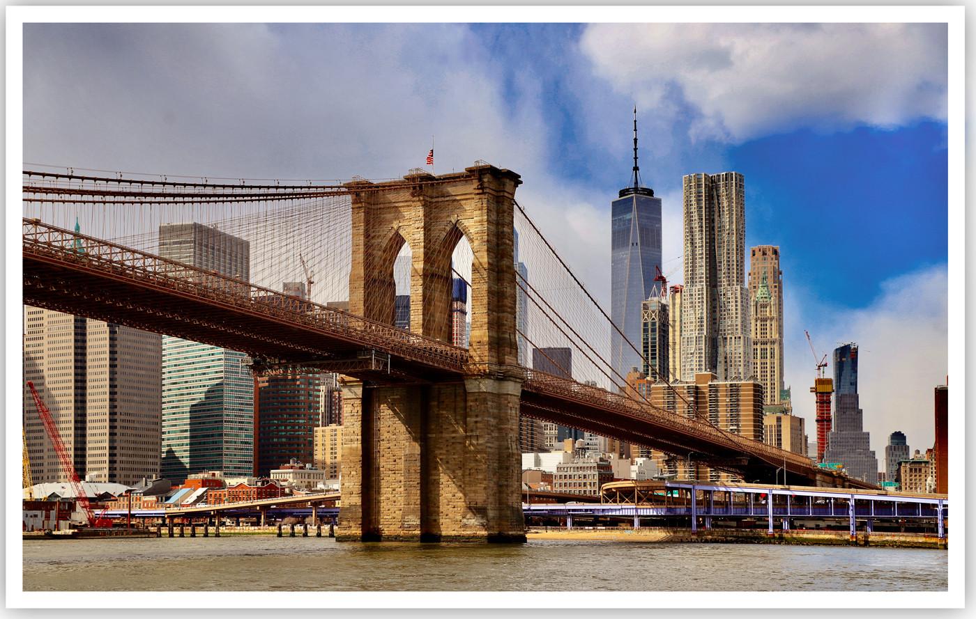 16 BROOKLYN BRIDGE NEW YORK by Dave Brooker