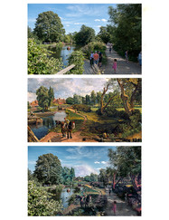 16 CONSTABLE FLATFORD MILL MONTAGE by Terry Day