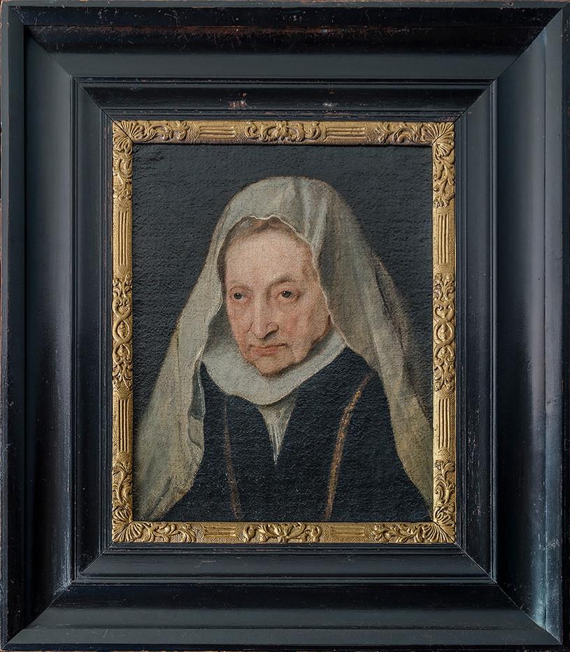 16 PORTRAIT OF SOFONISBA ANGUISSOLA 1624, VAN DYCK by Alan Cork