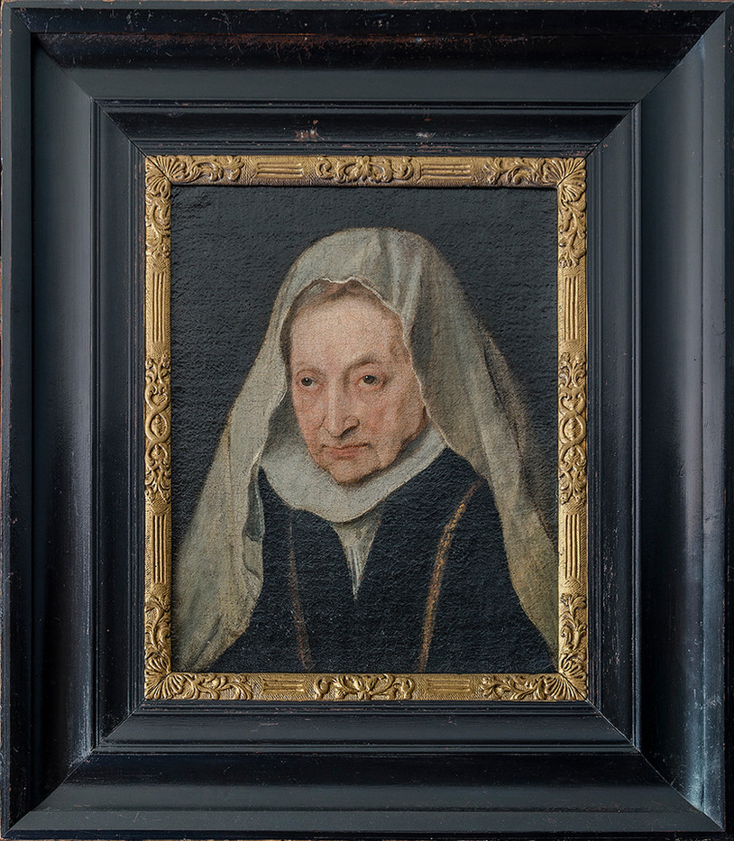 16 PORTRAIT OF SOFONISBA ANGUISSOLA 1624, VAN DYCK by Alan Cork