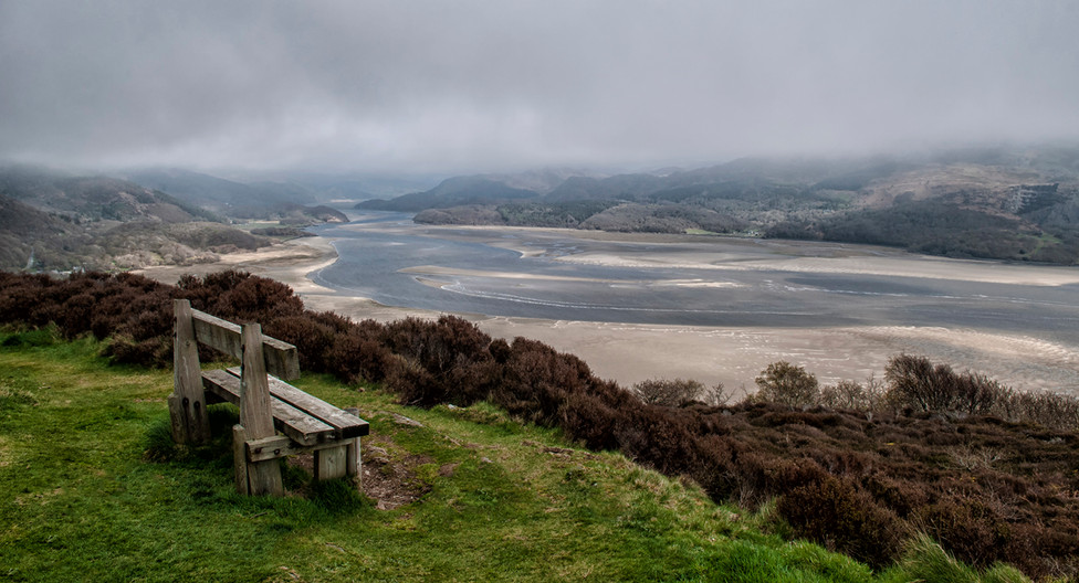 16 MIST ROLLING OVER THE ESTUARY by Ann Paine