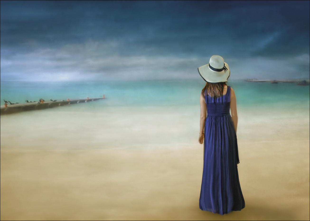 16 SUMMER STORM APPROACHING by Pam Sherren