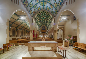 17 SACRED HEART CHURCH KILBURN by Roger Wates